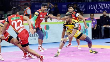 Jaipur Pink Panthers vs Bengaluru Bulls PKL 2019 Match Free Live Streaming and Telecast Details: Watch JAI vs BEN, VIVO Pro Kabaddi League Season 7 Clash Online on Hotstar and Star Sports