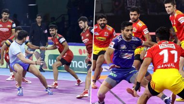 Bengaluru Bulls vs Gujarat Fortunegiants PKL 2019 Match Free Live Streaming and Telecast Details: Watch BEN vs GUJ, VIVO Pro Kabaddi League Season 7 Clash Online on Hotstar and Star Sports