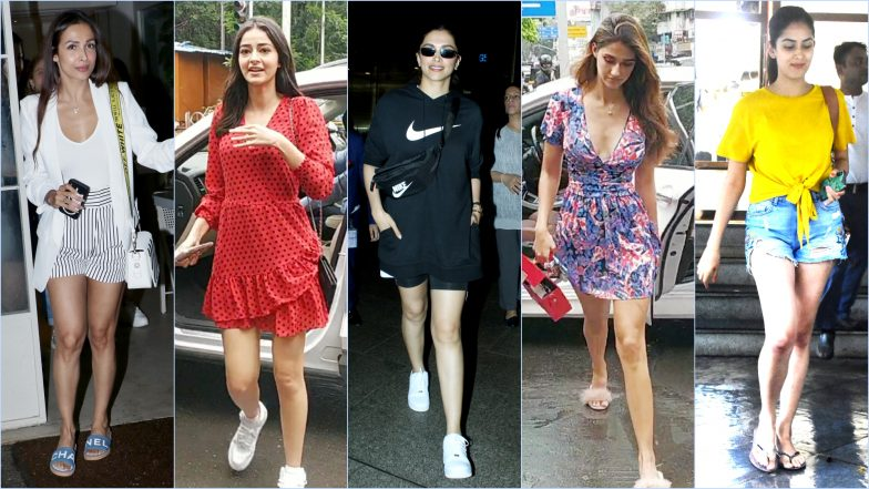 Best and Worst Dressed Over the Weekend: Deepika Padukone, Ananya Pandey, Disha Patani Are the Duds This Weekend, While Malaika and Mira Show How It's Done!