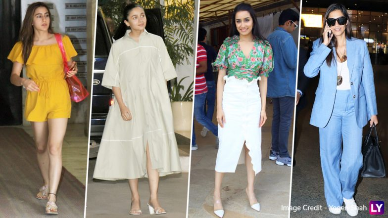 Best and Worst Dressed over the Weekend: Malaika Arora and Sara Ali Khan Slay While Alia Bhatt and Shraddha Kapoor Disappoint