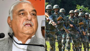 Bhupinder Singh Hooda Backs Modi Government on Article 370 Abrogation, Asks Manohar Lal Khattar to Give Account of Last 5 Years