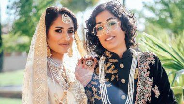 Bianca Maieli and Saima, Lesbian India-Pakistan Couple's Stunning Wedding Photos Go Viral!