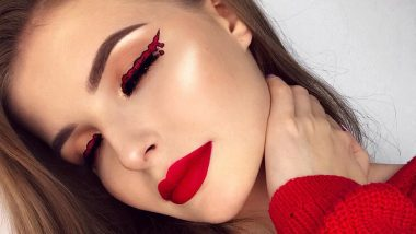 Blood Dripping Eyeliner Is Everybody's New Favourite Look for Halloween 2019 and It Is HORRIFYING!