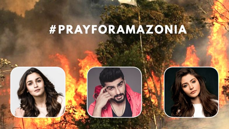 Amazon Rainforest Fires: Alia Bhatt, Arjun Kapoor, Anushka Sharma and Other Bollywood Celebs Express Serious Concern About This Massive Destruction of Nature