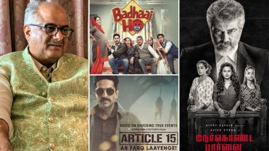 Boney Kapoor to Remake Badhaai Ho and Article 15 in Tamil Following Success of Ajith's Nerkonda Paarvai?