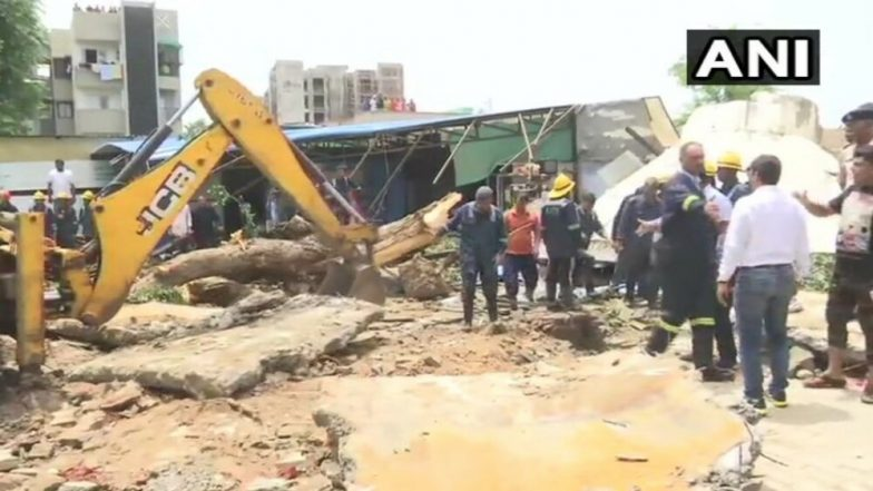 Ahmedabad: Overhead Water Tank Collapses in Bopal, Three Killed