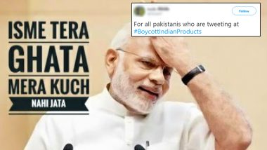 Pakistan Trends #BoycottIndianProducts on Twitter, Gets a Befitting Reply From Indian Twitter Army