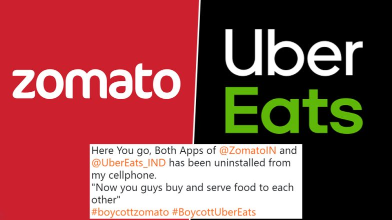 #BoycottZomato And #BoycottUberEats Trend After Zomato Says 'Food Doesn't Have Religion', Swiggy Jokes Flood Twitter
