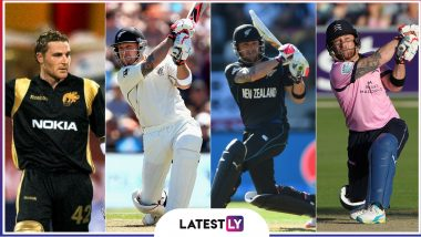 Brendon McCullum Retires: 6 Most-Explosive Knocks by Former New Zealand Captain (Watch Videos)