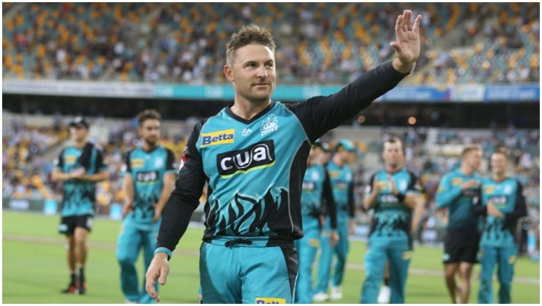 Brendon McCullum Appointed as Head Coach of Kolkata Knight Riders for IPL 2020