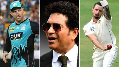 Sachin Tendulkar Wishes Good Luck to Dale Steyn and Brendon McCullum on Their Retirement, Check Tweets