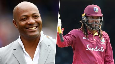 Chris Gayle Breaks Brian Lara's ODI Records: West Indies Great Congratulates Universe Boss for His 'Much Deserved' Achievement (See Tweet)