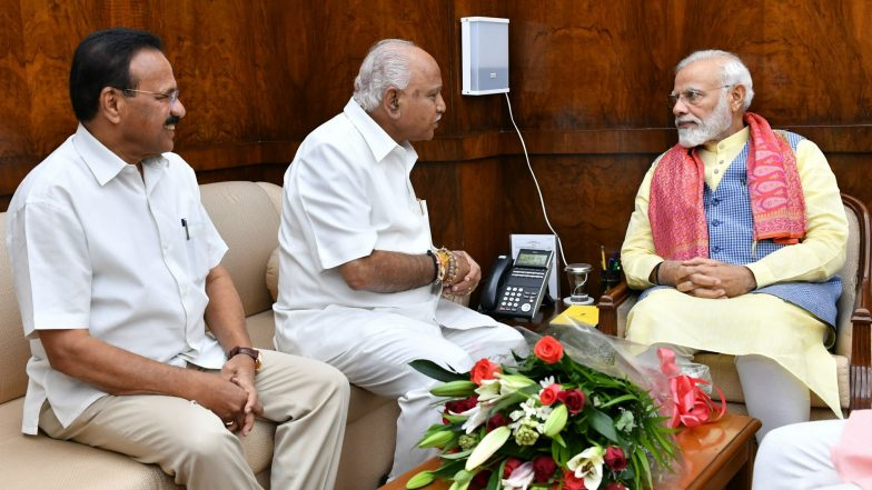 Karnataka Cabinet Formation: CM BS Yediyurappa Sends 17 Names to Governor Vajubhai Rudabhai Vala, Swearing-in of Ministers Likely to Take Place at 11 AM Today