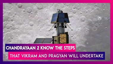 Chandrayaan-2 Inserted In To Moon's Orbit: Here Are The Steps Pragyan & Vikram Will Now Undertake