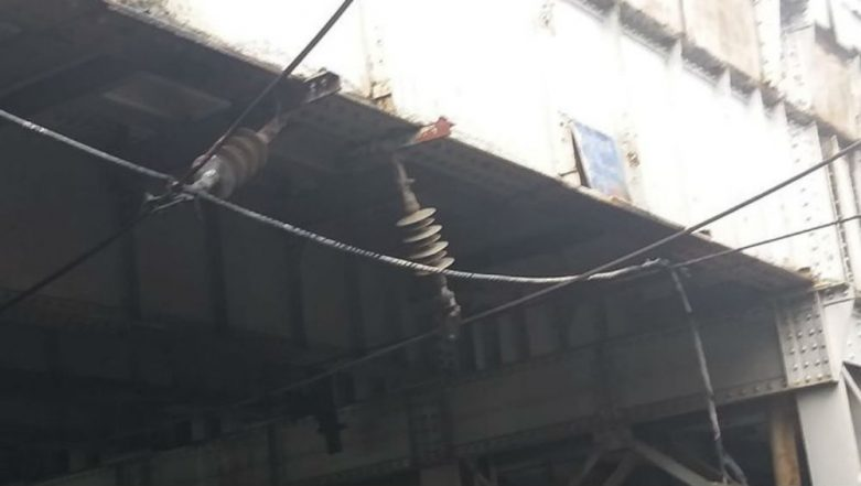Mumbai Local Trains Disrupted on Western Line After Cable Falls on Over Head Equipment Between Mahalaxmi And Mumbai Central Stations