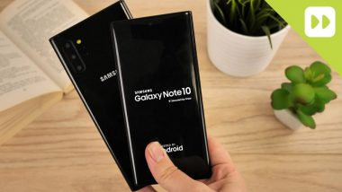 Samsung Galaxy Note 10, Galaxy Note 10 Plus Hand-on Video Surfaces Online Ahead of August 7 Launch