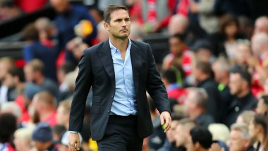 UEFA Super Cup 2019 Final : Coach Frank Lampard Looks at the Positive Side After Chelsea Misses out on the Title