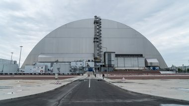Ukraine: Smoke From Wildfires Near Chernobyl Nuclear Power Plant Engulfs Capital Kyiv