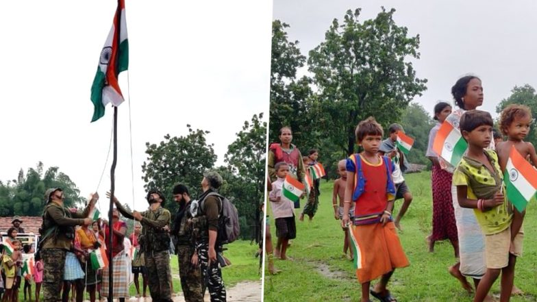 Independence Day 2019: Naxal-Affected Kasalpada Village Unfurls Tricolour First Time Since India Attained Freedom