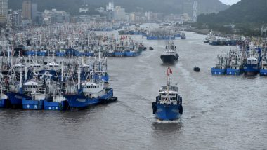 China Issues Red Alert for Typhoon Lekima in Zhejiang Province