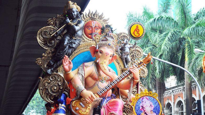 Chinchpokli Cha Chintamani Aagman Sohala 2019 to be Held Today: Live Streaming, Venue And Celebrations Related to Lord Ganesha Procession in Mumbai