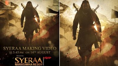 Sye Raa Narasimha Reddy: From Amitabh Bachchan, Chiranjeevi to Vijay Sethupathi and Nayanthara - Makers Unveil the First Look of Different Characters in this New Video