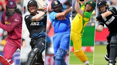 Most Sixes in T20 Internationals: Here's a List of Top 10 Batsmen With Highest Number of Sixes in Twenty20 Format