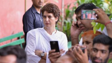 Priyanka Gandhi Flays Yogi Adityanath Government Over Hiked Electricity Rates in Uttar Pradesh