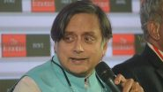 Shashi Tharoor Condemns Arrest of Payal Rohatgi For Objectionable Video Against Nehru-Gandhi Family, Wants Her Released