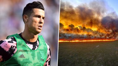 Cristiano Ronaldo Posts Wrong Image of Amazon Forest Fire in His #PrayForAmazonia Message on Social Media