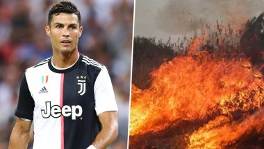 Cristiano Ronaldo Joins #prayforamazonia Forces; Juventus Footballer Calls for Responsibility to 'Save Our Planet'