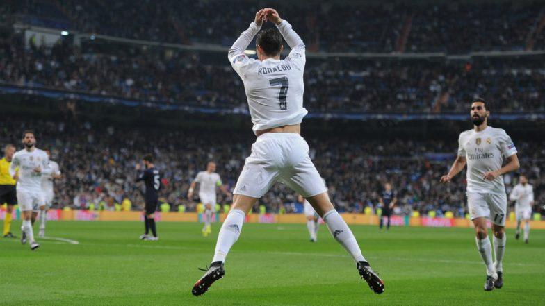 Cristiano Ronaldo Scores Quadruple as Goalie Ernestas Šetkus Makes Funny Blunders During Lithuania vs Portugal, Euro 2020 Qualifiers (Watch Videos)