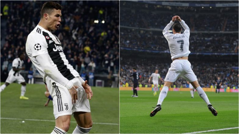 Cristiano Ronaldo 'Siii' Celebration: Juventus Football Star Reveals the Reason Behind His Iconic Goal Celebration (See Pics, Wallpapers and Videos)