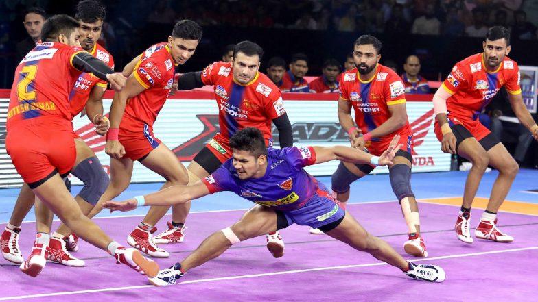 PKL 2019 Match Report & Results: Naveen Kumar Stars as Dabang Delhi Beat UP Yoddha 36–27