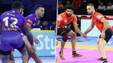 Dabang Delhi vs U Mumba PKL 2019 Match Free Live Streaming and Telecast Details: Watch DEL vs MUM, VIVO Pro Kabaddi League Season 7 Clash Online on Hotstar and Star Sports