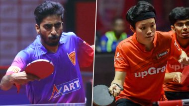 Ultimate Table Tennis 2019: Dabang Delhi Thrash Chennai Lions in the Last League Clash, to Face U Mumba in 1st Semifinal