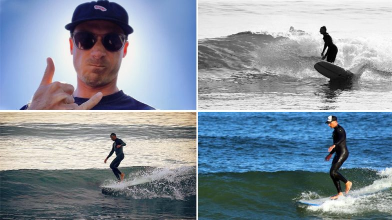 Dale Steyn Retirement: Other Than Cricket, the South African Pacer Has a Great Passion for Surfing and These Photos Are A Proof!