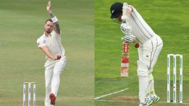 Kane Williamson's Cheeky Tribute on Dale Steyn Retirement: New Zealand Skipper Recalls Moment When South African Great Cracked His Abdominal Guard