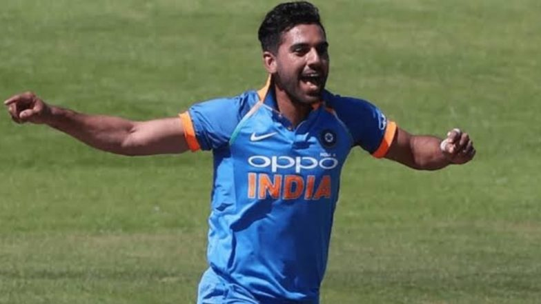 Playing for Chennai Super Kings Helped Me in Countering Dew, Says Deepak Chahar After His Magical Spell Against Bangladesh at VCA Stadium