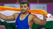 How to Watch Deepak Punia vs Myles Amine at Tokyo Olympics 2020, Wrestling Live Streaming Online: Know TV Channel & Telecast Details of Men's Freestyle 86 KG Bronze Medal Match Coverage