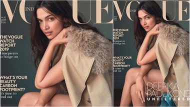 Deepika Padukone Goes for a No Make-Up Look On Latest Vogue Cover and We Love Her for Defying Beauty Norms With It - See Pic