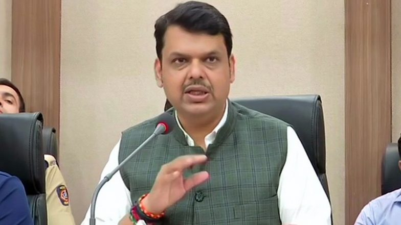 Ink Attack on Maharashtra CM Devendra Fadnavis' Convoy in Ahmednagar