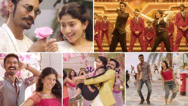 WHOA! Dhanush and Sai Pallavi's Song Rowdy Baby from Maari 2 Cross 600 Million Views on YouTube