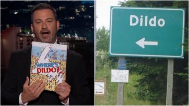 Dildo Gets Jimmy Kimmel As Its Honourary Mayor! Apart From This Canadian Town, Here Are Six Other Places With Suggestive Names That Will Make You Laugh So Hard