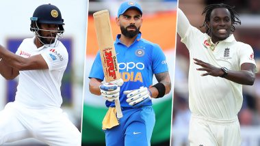 Cricket Week Recap: From Jofra Archer's Dream Test Debut to Dimuth Karunaratne's Match-Winning Ton to Virat Kohli's Carnage, A Look At Finest Individual Performances