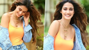 Disha Patani's Latest Pictures Smiling Ear to Ear Have Fans Drooling Over Her With Cheesy Pick-Up Lines!