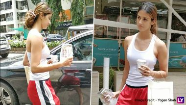Disha Patani Goes Complete Deglam As She Was Spotted Food-Shopping in the City (View Pics)