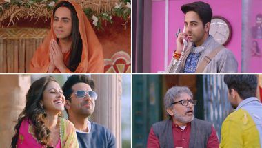 Dream Girl Trailer: Ayushmann Khurrana Turns into Seductive Pooja Whose Call You Would Never Want to Hang Up! (Watch Video)