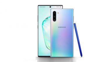 Samsung Galaxy Note 10, Galaxy Note10+ Smartphones With New S Pen Launched in India; Prices Start From Rs 69,999