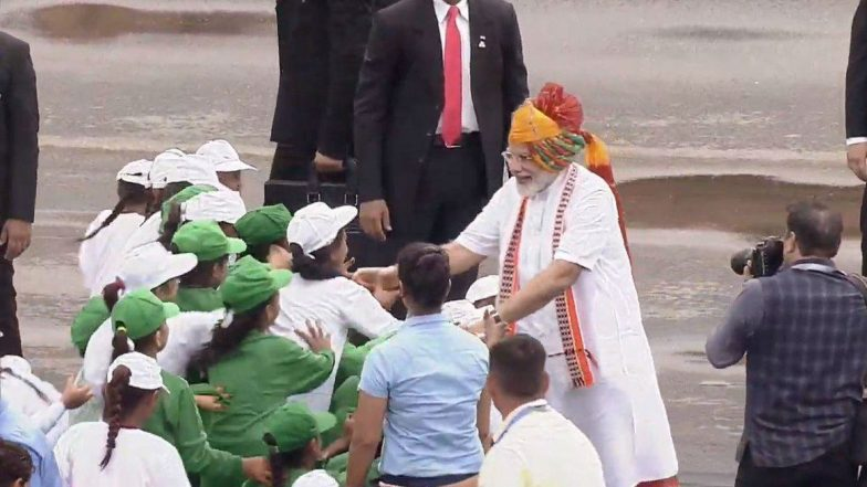 Independence Day 2019: PM Continues Turban Tradition for First I-Day Address of Modi 2.0